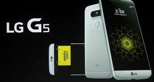 مواصفات LG G5 ومميزات ال جي جي 5