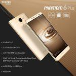 مواصفات وسعر Tecno Phantom 6 Plus تكنو فانتوم 6 بلس