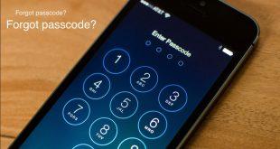 حل مشكلة نسيان كلمة السر فى iPhone والايباد