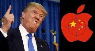 ترامب يتحدي ابل ويريد نقل مصانعها من الصين الى usa