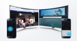 تطبيق Samsung Smart View لعرض محتوى هاتفك على تلفزيون سامسونج