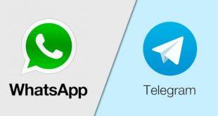 مقارنة بين تليجرام وواتس آب وايهم افضل ؟