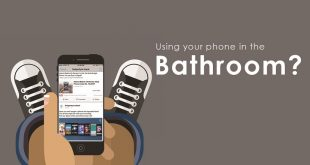 using-phone-bathroom-contamination-disease