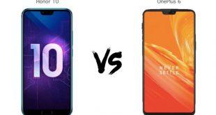 مقارنة بين مواصفات Honor 10 و OnePlus 6