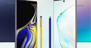 مقارنه بين نوت Samsung Galaxy Note 10 والقديم Galaxy Note 9