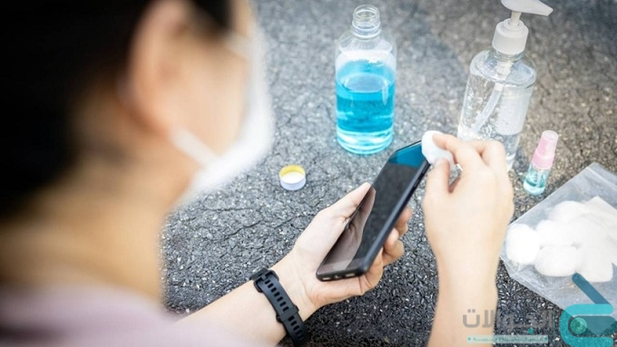 أفضل طريقة لتعقيم الموبايل للوقاية من فيروس كورونا 2021